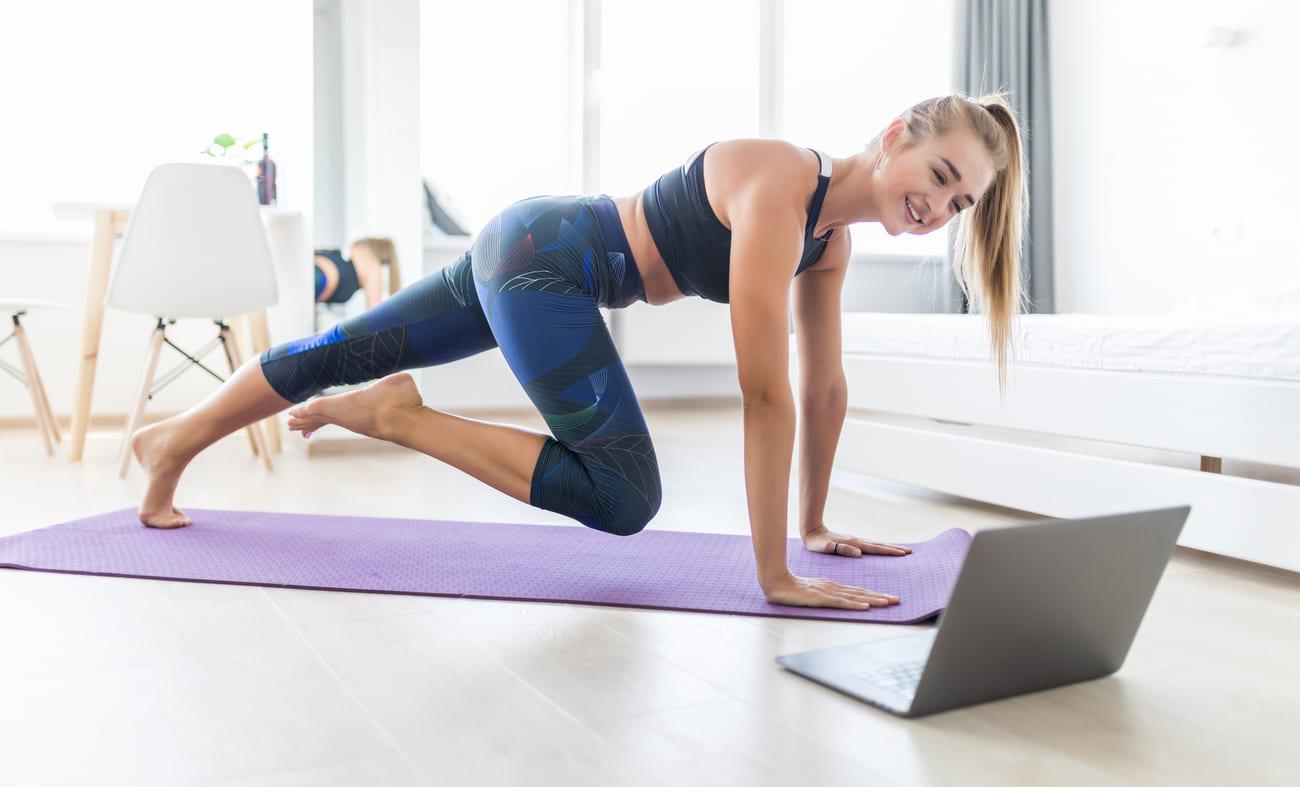 Maintenant aussi des cours de fitness et de bien-être en ligne